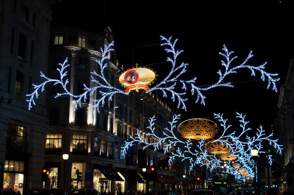 Regent Street Christmas Lights London