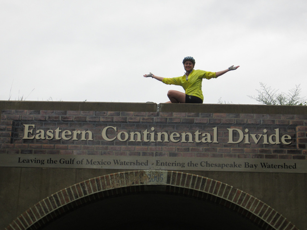 GAP eastern continental divide bike