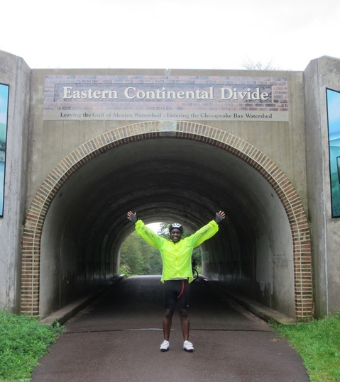 GAP eastern continental divide tunnel bike