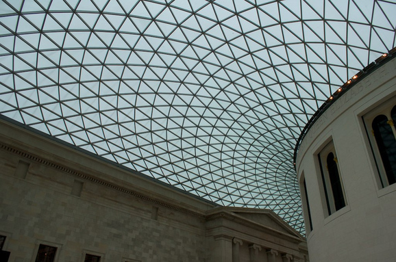British Museum Dome Ceiling