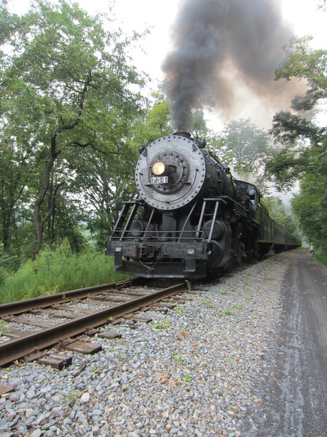 GAP western maryland scenic railroad steam train bike trail
